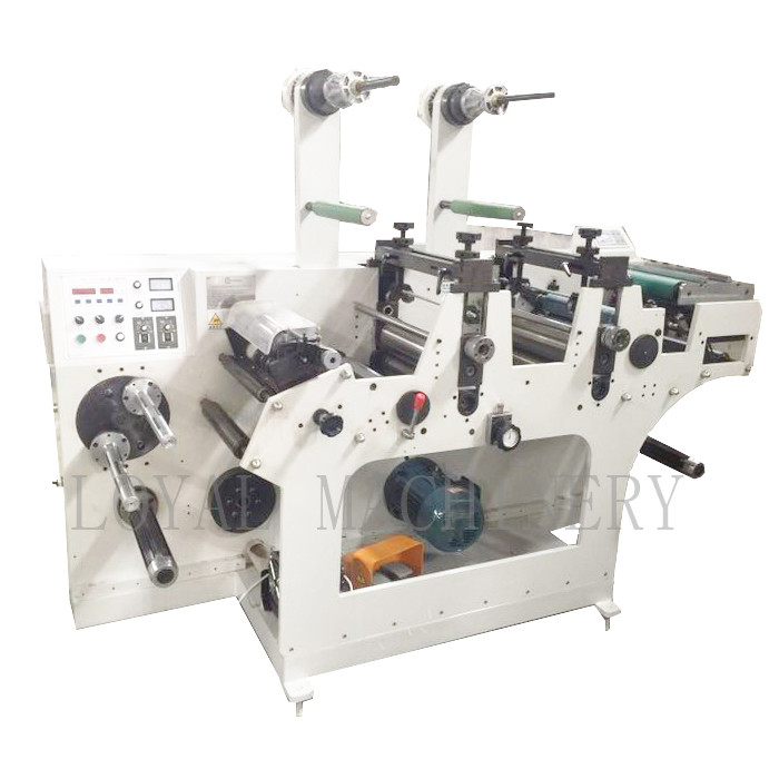 HC -320A Αυτόματη Blanc Label Sliting Rotary Die Die DieRipting Machine με Turet